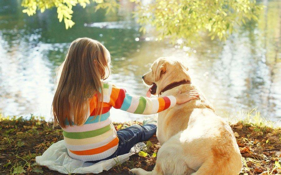 Animais de estimação impulsionam desenvolvimento das crianças