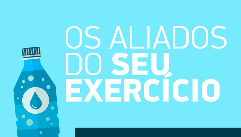 Infográfico: Você sabe quais são os maiores aliados dos exercícios físicos? - Vida Plena e Bem-Estar