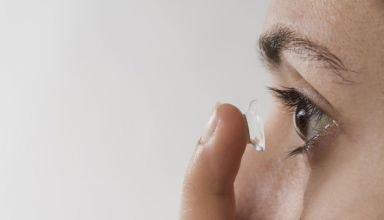 Cuidados com as lentes de contato