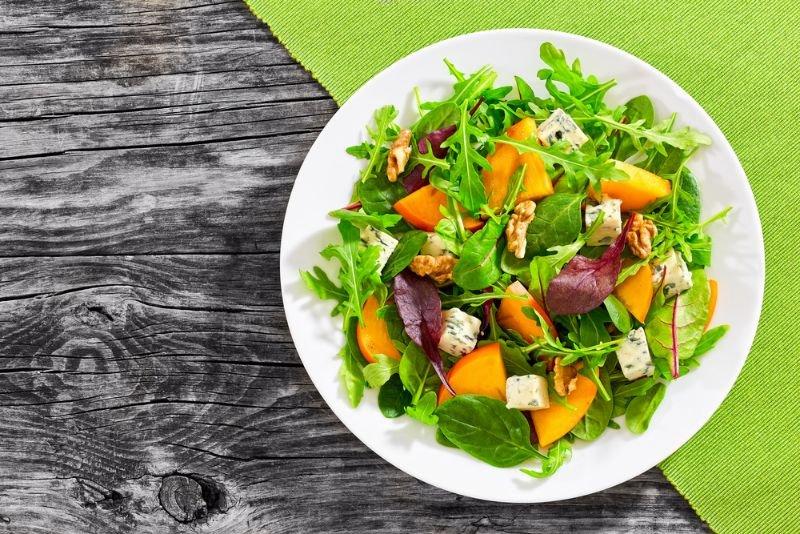 Salada de Caqui