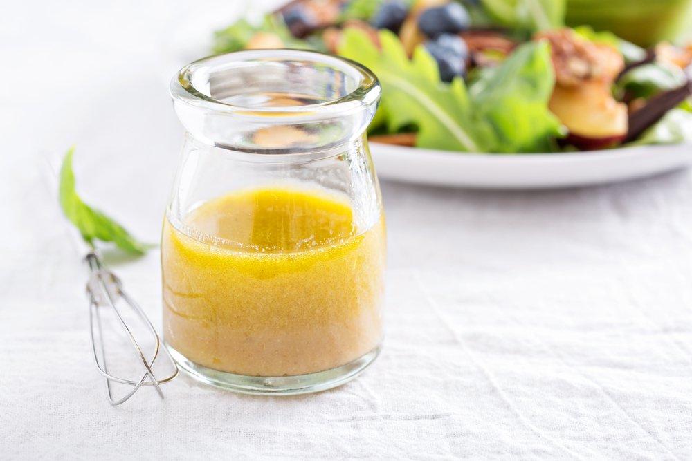Molho cítrico para saladas
