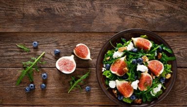 Salada de Nozes e Figo