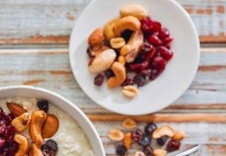 Mix de nuts (oleaginosas são fontes de zinco, magnésio, selênio e vitaminas do complexo B)