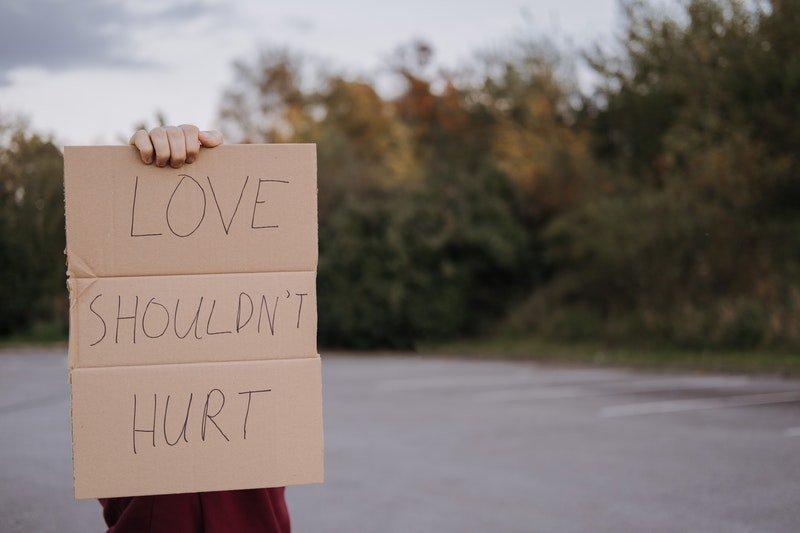 O amor não deveria machucar